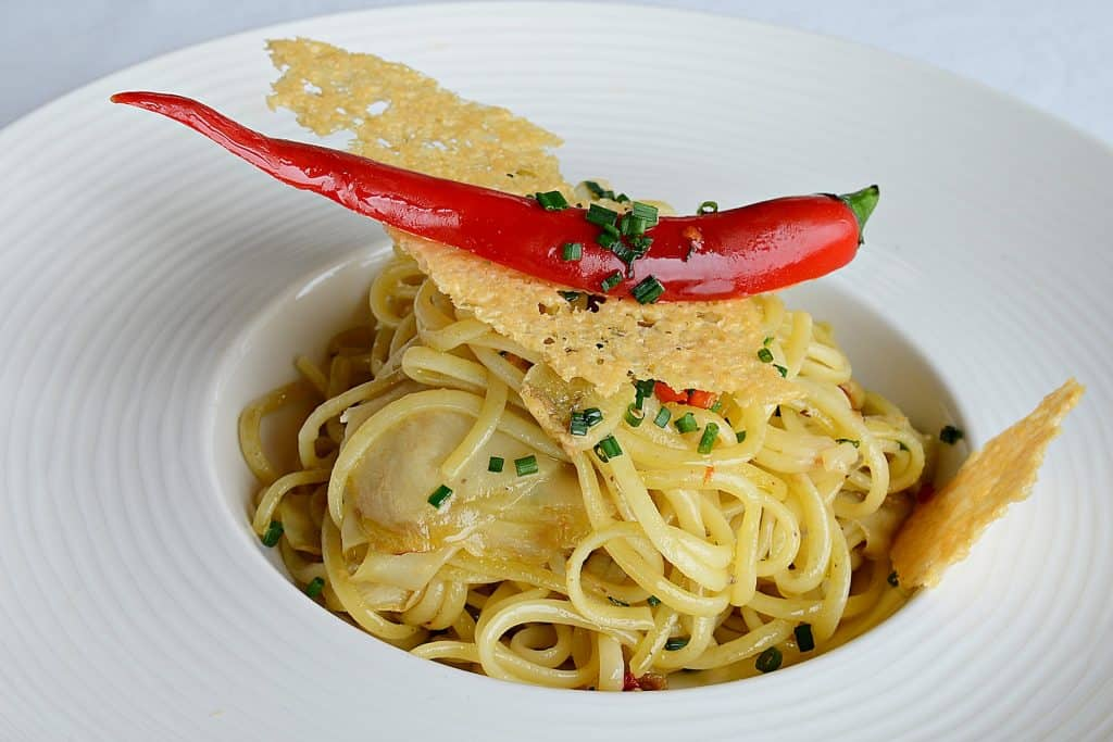 Linguine Ail Piment